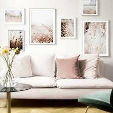 6 teiliges poster set natur beige nordic landschaft ebay