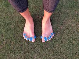 The Yoga Toes Are Jelly Rubbery And For First Few Minutes Quite Uncomfortable However By Minute 10 I Forgot They Were Even On