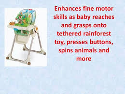Fisher Price Rainforest High Chair - Fisher-Price Rainforest - Video ... Fisherprice Spacesaver High Chair Rainforest Friends Buy Online Cheap Fisher Price Toys Find Baby Chair In Very Good Cditions Rainforest Replacement Parrot Bobble Toy Healthy Care Rainforest Bouncer Lights Music Nature Sounds Awesome Kohls 10 Best Doll Stroller Reviewed In 2019 Tenbuyerguidecom The Play Gyms Of Price Jumperoo Malta Superseat Deluxe Giggles Island Educational Infant 2016 Top 8 Chairs For Babies Lounge