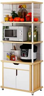 nan liang mikrowelle regal küche fahrbare storage trolley