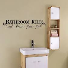 englisch sprüche bad regeln wandaufkleber für bad home decor diy abnehmbare wandtattoos dusche zimmer wand dekoration