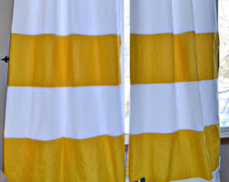 Yellow And White Striped Curtains by Custom Navy Blue Striped Curtains Stripes Color Blocked