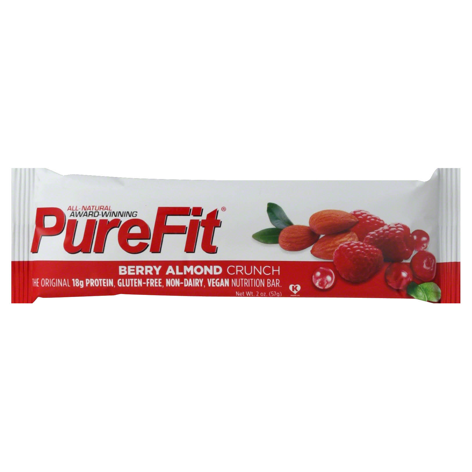 PureFit Nutrition Bar, Berry Almond Crunch - 2 oz
