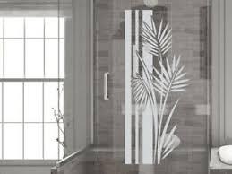 details zu glasdekor fensterfolie glastür aufkleber sichtschutz bad dusche banner wellness