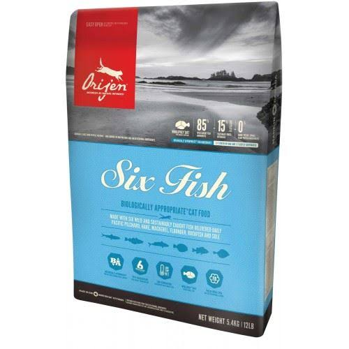 Orijen 6 Fish Cat Food 1.8kg