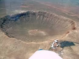 Meteor Crater Arizona Is The Breath Taking Result Of A Collision Between An Asteroid Traveling 26000 Miles Per Hour And Planet Earth Approximately 50000