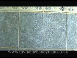 Regrouting Floor Tiles Uk by Handyman Tips Regrouting Tiles Youtube