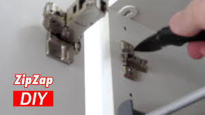 Soft Close Cabinet Hinges Ikea by Install The Ikea 153 Degree Hinge Zip Zap Diy