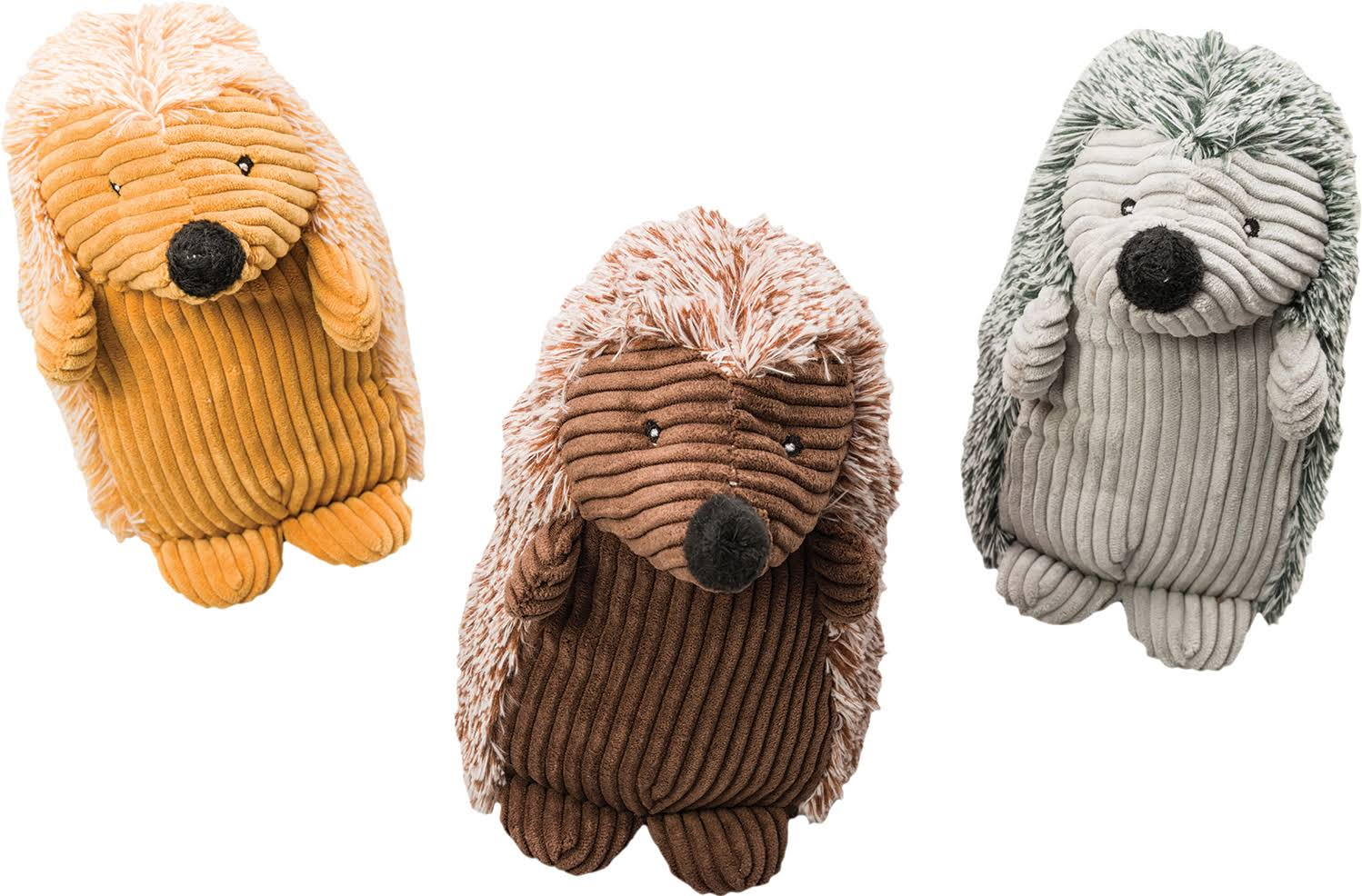Ethical Products Corduroy Hedgehogs Plush Dog Toy