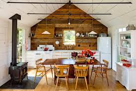 Attic Kitchen Ideas Kitchen In Beige Color
