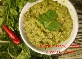 les pates de curry maison pate de curry vert thaï oranges et