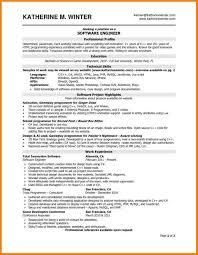 Experience Resume Samples For Software Engineer Developer Fresher