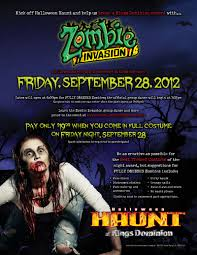 Kings Dominion Halloween Haunt by Zombies At Kings Dominion