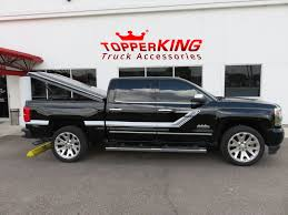 Sporty Silverado With LEER 700 And Steps - TopperKING : TopperKING ...