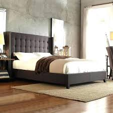 Roma Tufted Wingback Bed King by Tufted Wingback Headboard Queen U2013 Unrulygirl Me