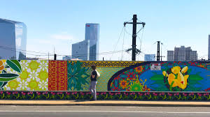 Philly Mural Arts Love Letters by How Philly U0027s Spring Garden Bridge Mural Bloomed Into Thousands
