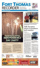 Fort Thomas Recorder 063016 By Enquirer Media - Issuu