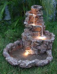 Amazing Outdoor Lighted Fountains 10 Most Basic Tips For Garden