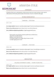 chronological resume format inssite