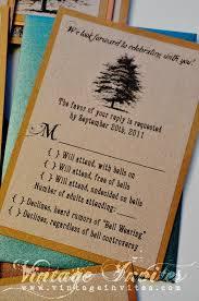 The Jennifer Rustic Twine Wedding Invitation