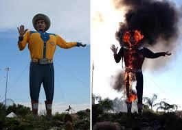 Big Tex Is Burning