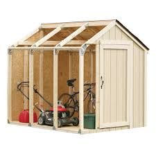 Home Depot Storage Sheds Resin by Shed Kit With Peak Roof 90192 The Home Depot
