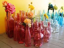 Vintage Wedding Vases Glass Bottles Supplies