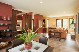 burnt orange paint color living room contemporary with ceiling