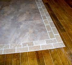 laminate wood flooring transition to tile