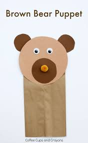 Brown Bear Puppet Craft