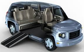The MV 1 Is A Wheelchair Accessible Automobile That Requires No Aftermarket Conversion To