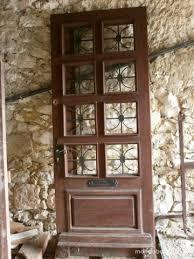 achetez porte d entrée bois occasion annonce vente à lauzun 47