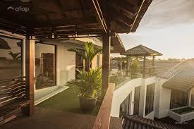 100 Bungalow Design Malaysia Asian Balcony Bungalow Design Ideas Photos Atap