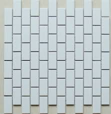 white porcelain tile ceramic mosaic subway backsplash tiles brick