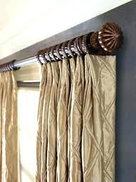 Decorative Curtain Ideas Rods Club For Bedrooms