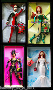 Harley Quinn Barbie Doll CatWoman Poison Ivy Mary Jane NO BOXES