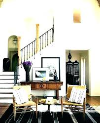 Attractive Entry Table Decorating Ideas Decoration Hall Front Entrance Small Hallway