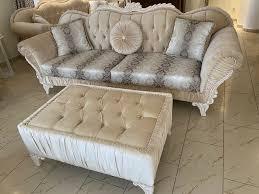 wohnzimmer sofa barock möbel in nordrhein westfalen rheda