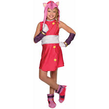 Halloween Costumes Memoirs Of A by Sonic Boom Amy Child Halloween Costume Walmart Com