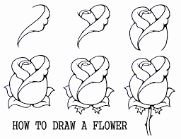 Drawing For Kids Step By Inspirational S Easy Roses To Draw Drawings