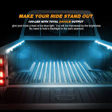 Amazon.com: AUDEW 2Pcs 60'' Truck Bed Light Strips Unloading Cargo ... Best Truck Bed Lights 2017 Partsam Amazoncom Genuine Ford Fl3z13e754a Led Light Kit Rear Rugged Liner F150 With Cargo Without How To Install Cabin Switch Youtube Fxible Strip Truck Bed Lights F150online Forums 8 White Rock Pods Lighting Xprite 60 2 Strips Rail Awning Truxedo Blight Tonneau System Free Shipping 200914 Ingrated Full F150ledscom Magnetic Under The Lux Systems Led For Of Decor Kit Chevyoffroading