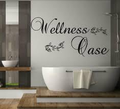 dekoration wandtattoo spruch spa für badezimmer