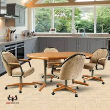 Dinette Sets With Roller Chairs by Dining Sets And Dinettes Chromcraft Dinette Chairs With Laminate