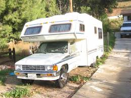 Recreational Vehicles Class C Motorhomes 1988 Toyota W 4 Cyl Engine 22 Ft Odyssey Mini Motorhome Located In Sunland California RV Clearinghouse