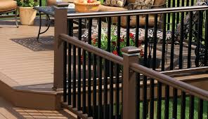 Decking Banister Deck Railing Composite Aluminum Deck Railing ... Best 25 Deck Railings Ideas On Pinterest Outdoor Stairs 7 Best Images Cable Railing Decking And Fiberon Com Railing Gate 29 Cottage Deck Banister Cap Near The House Banquette Diy Wood Ideas Doherty Durability Of Fencing Beautiful Rail For And Indoors 126 Dock Stairs 21 Metal Rustic Title Rustic Brown Wood Decks 9