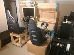 Mortal Kombat Arcade Cabinet Plans by Diy Music Synced Arcade Racing Cabinet Album On Imgur Arcade