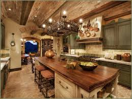 Kitchen Rustic Island Awesome Design Ceiling Light Fixtures 2017 Decor Ideas Painted Wooden Table