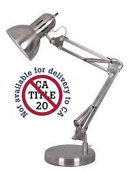 Amazonca Desk Lamps by Alvin Fd206st Architect Desk Lamp Satin Steel Finish Retro Desk