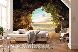 papier peint chambre vue sur la mer de plage papier peint photo mural chambre salle à