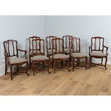 Antique French Set Of 8 Beech Provincial Louis Dining Chairs (Circa ... Tiger Oak Fniture Antique 1900 S Tiger Oak Round Pedestal With Ding Chairs French Gothic Set 6 Wood Leather 4 Victorian Pressed Spindle Back Circa Room 1900s For Sale At Pamono Antique Ding Chairs Of Eight Chippendale Style Mahogany 10 Arts Crafts Seats C1900 Glagow Antiques Atlas Edwardian Queen Anne Revival Table 8 Early Sets 001940s Extendable With Ball Claw Feet Idenfication Guide